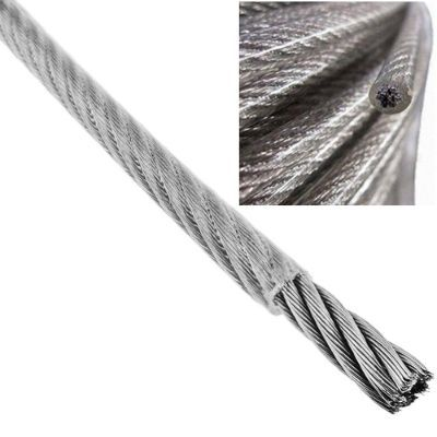 CABLE ACERO PLASTIFICADO 2X4MM